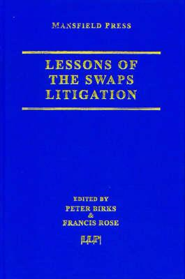 Lessons of the Swaps Litigation (BOK)