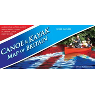 Canoe & Kayak Map of Britain (BOK)