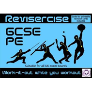 PE Revision (All GCSE UK Exam Boards) : Revisercise: Work-it (BOK)