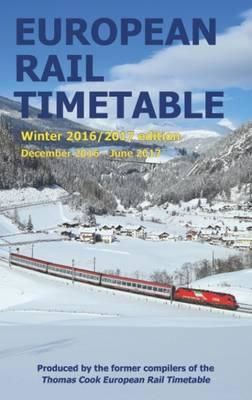 European Rail Timetable Winter: December 2016 - June 2017 (BOK)