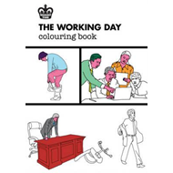 Modern Toss: The Working Day Colouring Book (BOK)