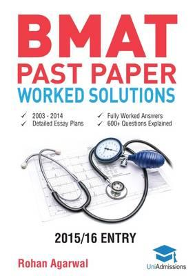 Bmat Past Paper Worked Solutions Volume 1 & 2 (BOK)