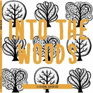 Into the Woods - A Coloring Adventure Card-Book (BOK)