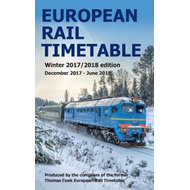 European Rail Timetable Winter 2017-2018 Edition (BOK)