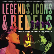 Produktbilde for Legends, Icons & Rebels (BOK)