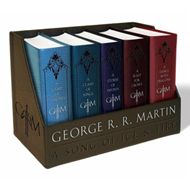 George R. R. Martin's a Game of Thrones Leather-Cloth Boxed (BOK)