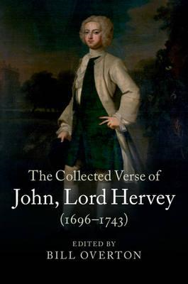 Collected Verse of John, Lord Hervey (1696-1743) (BOK)