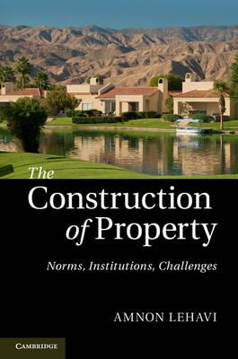 The Construction of Property: Norms, Institutions, Challenges (BOK)
