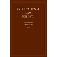 International Law Reports: Volume 163 (BOK)