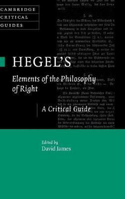 Hegel's Elements of the Philosophy of Right (BOK)