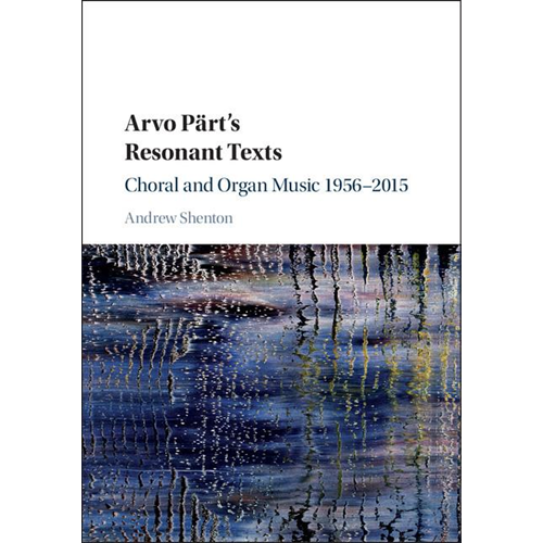 Arvo Part's Resonant Texts (BOK)