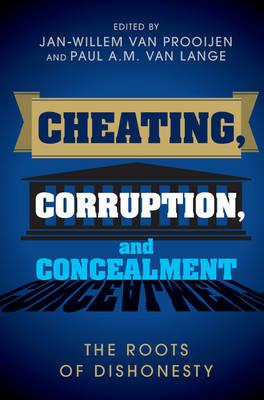 Cheating, Corruption, and Concealment (BOK)