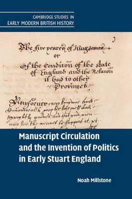 Manuscript Circulation and the Invention of Politics in Earl (BOK)