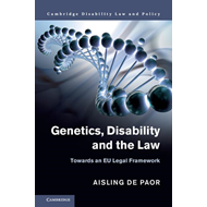 Cambridge Disability Law and Policy Series (BOK)