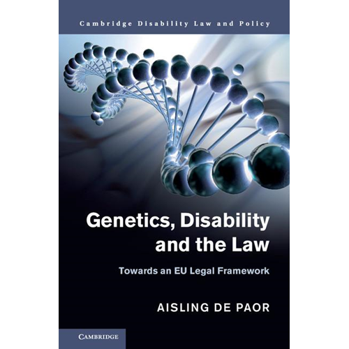 Genetics, Disability and the Law (BOK)