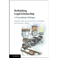Rethinking Legal Scholarship (BOK)