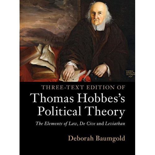 Three-Text Edition of Thomas Hobbes's Political Theory (BOK)