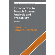 Introduction to Banach Spaces: Analysis and Probability: Vol (BOK)