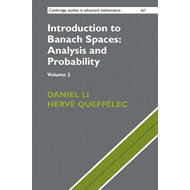 Introduction to Banach Spaces: Analysis and Probability (BOK)