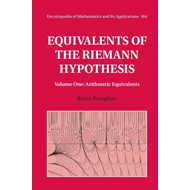 Equivalents of the Riemann Hypothesis: Volume 1, Arithmetic (BOK)