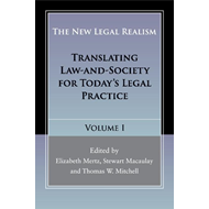 New Legal Realism: Volume 1 (BOK)