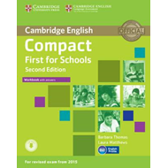 Compact First for Schools Workbook with Answers with Audio (BOK)