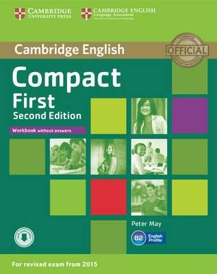 Compact First Workbook without Answers with Audio (BOK)