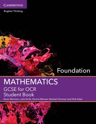 GCSE Mathematics for OCR Foundation Student Book (BOK)