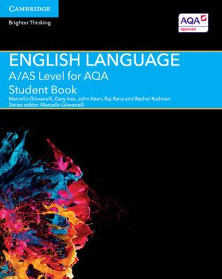 A/AS Level English Language for AQA Student Book (BOK)