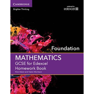 GCSE Mathematics for Edexcel Foundation Homework Book (BOK)
