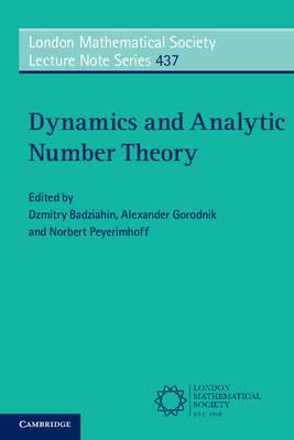 Dynamics and Analytic Number Theory (BOK)