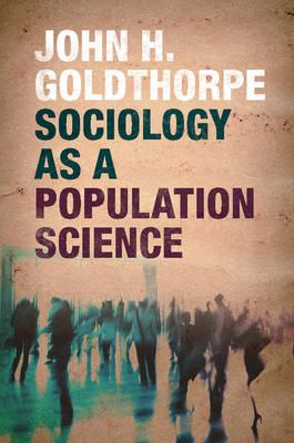 Sociology as a Population Science (BOK)