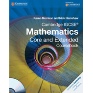 Cambridge IGCSE Mathematics Core and Extended Coursebook wit (BOK)