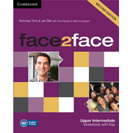 face2face Upper Intermediate Workbook with Key (BOK)