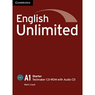 English Unlimited Starter Testmaker CD-ROM and Audio CD (BOK)