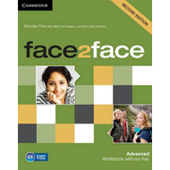 Face2face Advanced Workbook without Key (BOK)