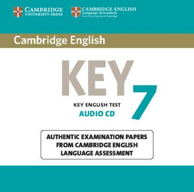 Cambridge English Key 7: Authentic Examination Papers from Cambridge English Language Assessment (BOK)