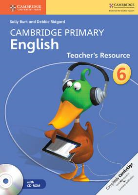 Cambridge Primary English Stage 6 Teacher's Resource Book wi (BOK)