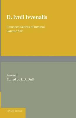 Fourteen Satires of Juvenal (BOK)