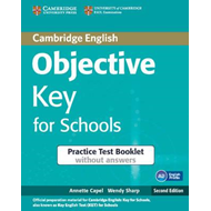 Objective Key for Schools Practice Test Booklet without Answ (BOK)