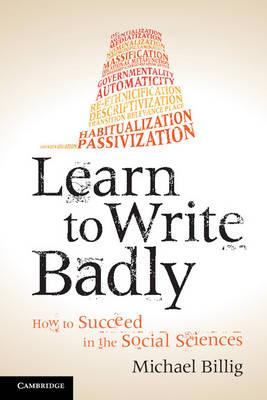Learn to Write Badly (BOK)