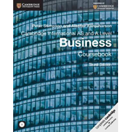 Cambridge International AS and A Level Business Coursebook w (BOK)