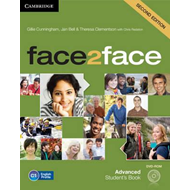 Produktbilde for face2face Advanced Student's Book with DVD-ROM (BOK)