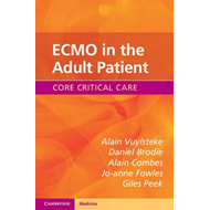 ECMO in the Adult Patient (BOK)