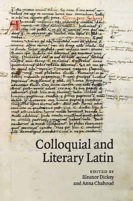 Colloquial and Literary Latin (BOK)