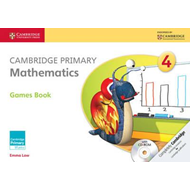 Cambridge Primary Mathematics Stage 4 Games Book with CD-ROM (BOK)
