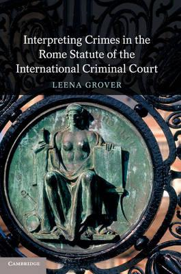 Interpreting Crimes in the Rome Statute of the International (BOK)