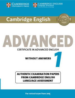 Cambridge English Advanced 1 for Revised Exam from 2015 Stud (BOK)