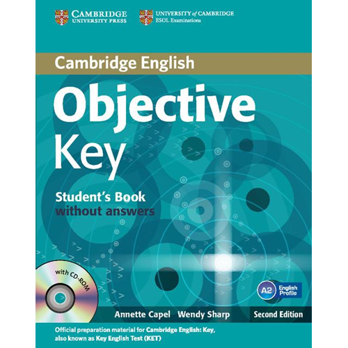 Objective Key for Schools Pack without Answers (Student's Book with CD-ROM and Practice Test Booklet (BOK)