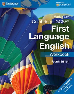 Cambridge IGCSE First Language English Workbook (BOK)